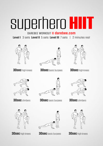 Superhero HIIT Workout