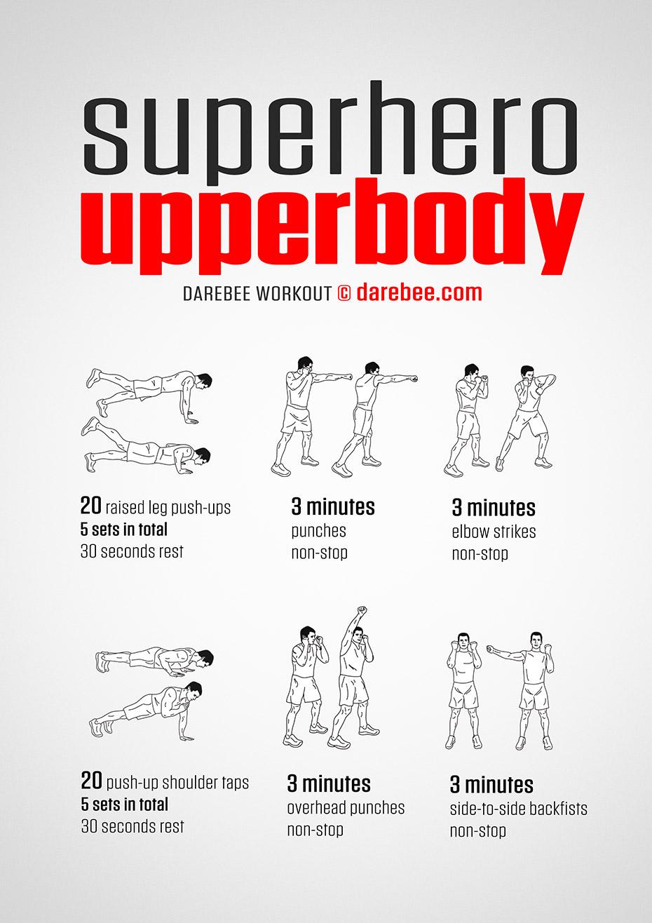 Superhero Upperbody Workout