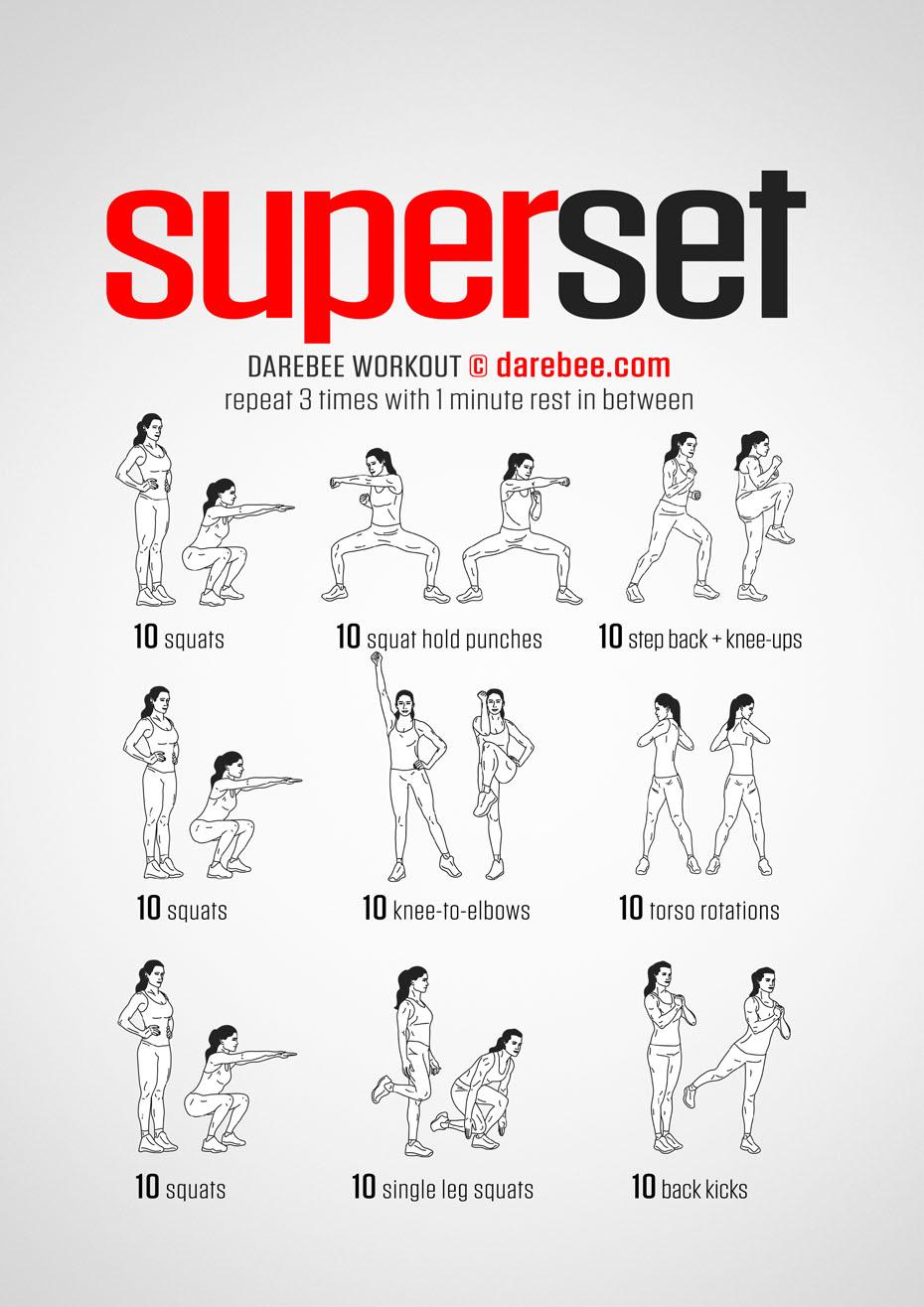 Superset Workout