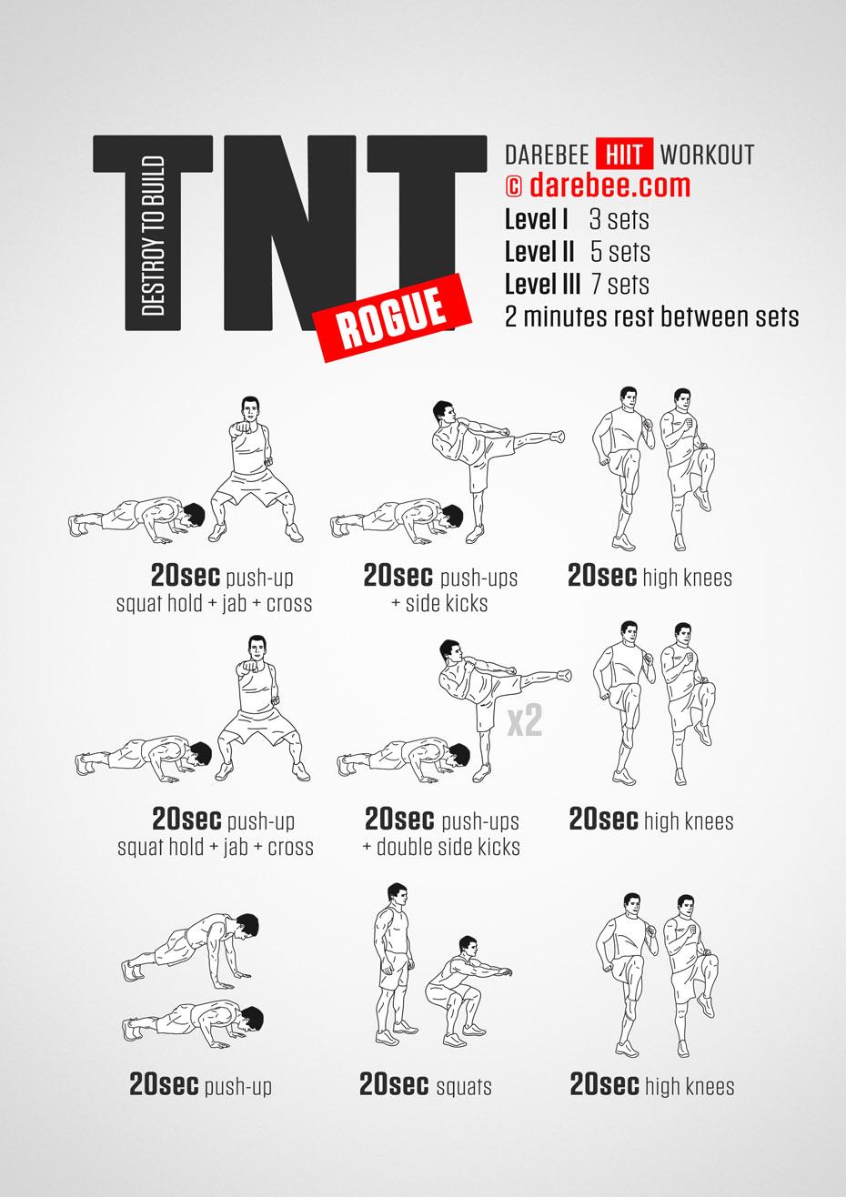 Rogue fitness workouts workoutwaper