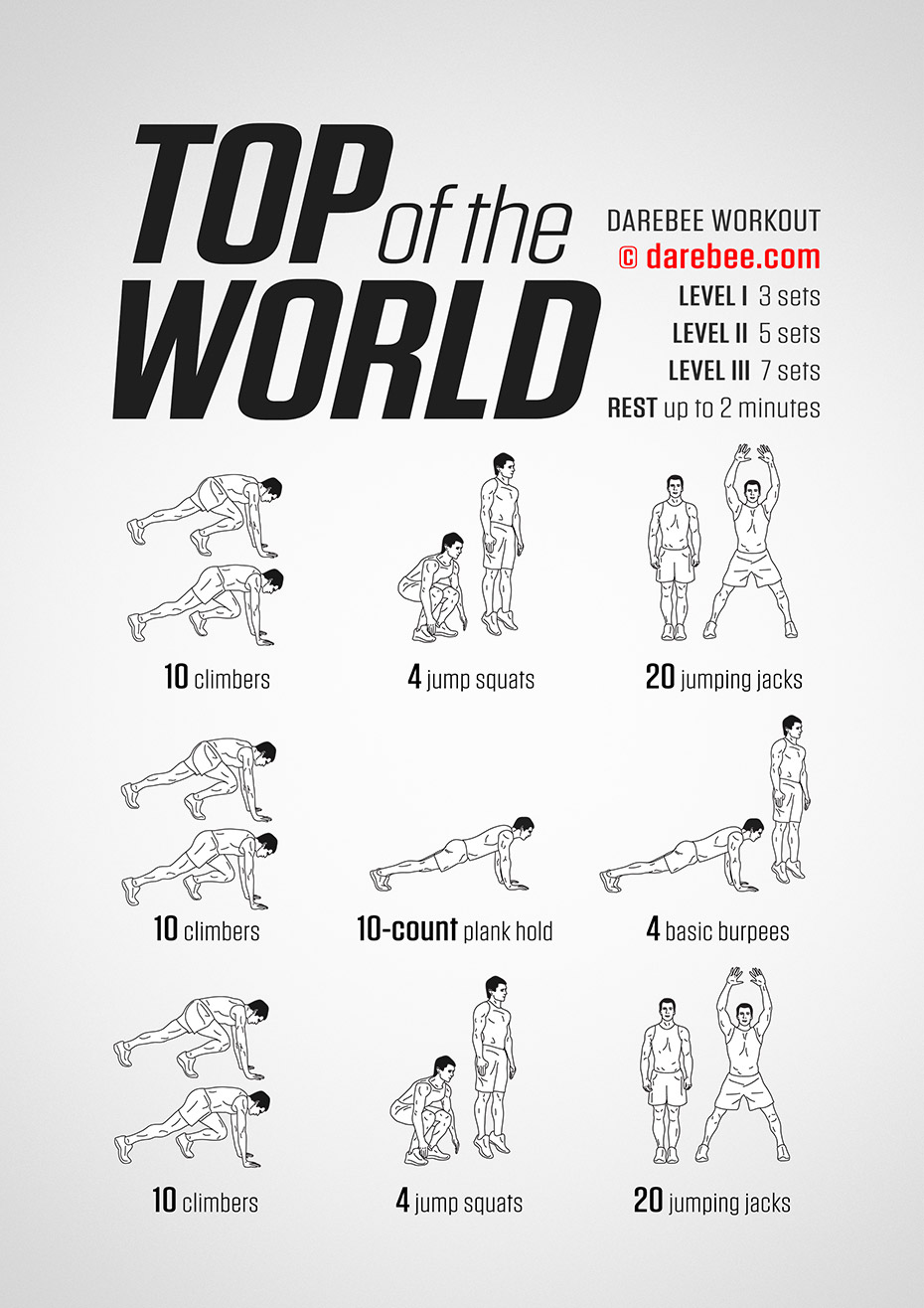 Top of the World Workout
