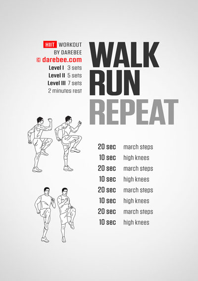 Walk, Run, Repeat Workout